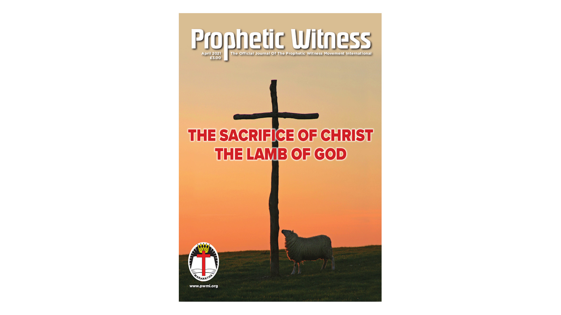 The Sacrifice of Christ - The Lamb of God