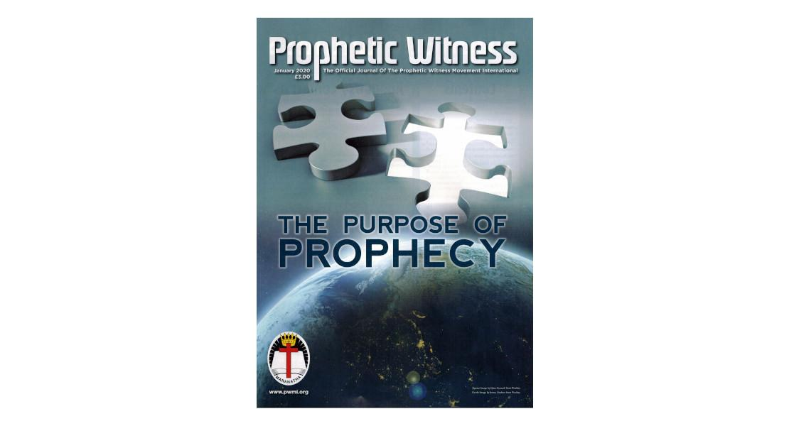 Prophetic Witness - January 2020