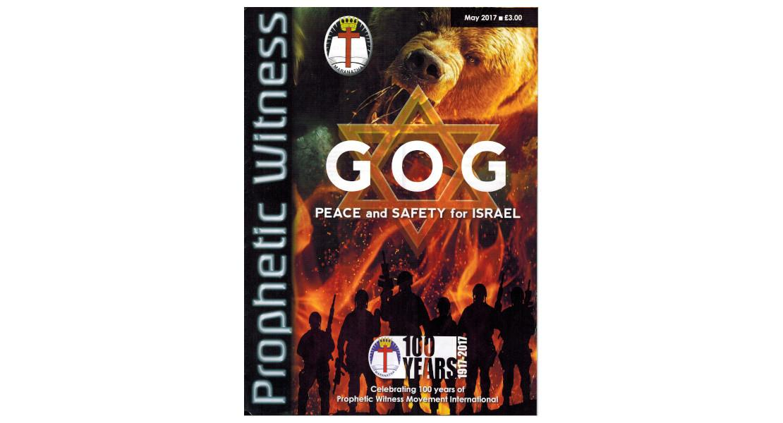 GOG PEACE and SAFETY for Israel