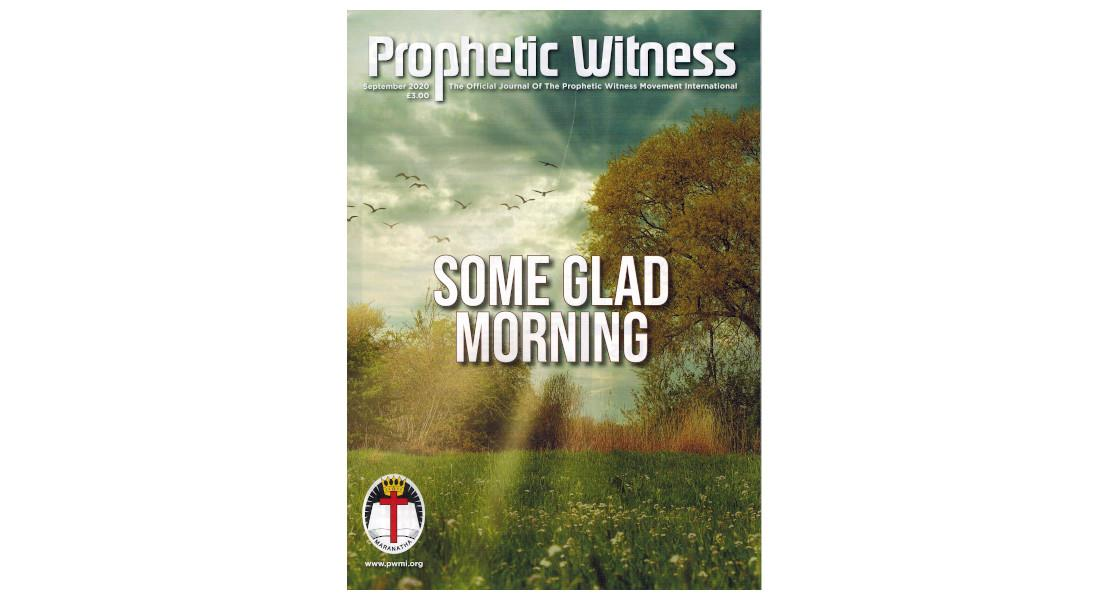Prophetic Witness - September 2020